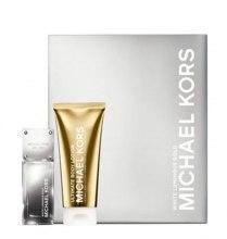 Духи, Парфюмерия, косметика Michael Kors White Luminous Gold - Набор (edp/50ml + b/lot/100ml)