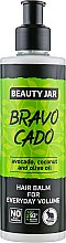 "Духи, Парфюмерия, косметика Бальзам для волос ""Bravo Cado"" - Beauty Jar Hair Balm For Everyday Volume"