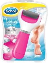 Духи, Парфюмерия, косметика Электрическая роликовая пилка для ног - Scholl Velvet Smooth Diamond Crystal Pink