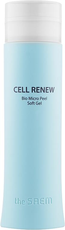 Мягкий пилинг-скатка для очищения кожи от мертвых клеток - The Saem Cell Renew Bio Micro Peel Soft Gel