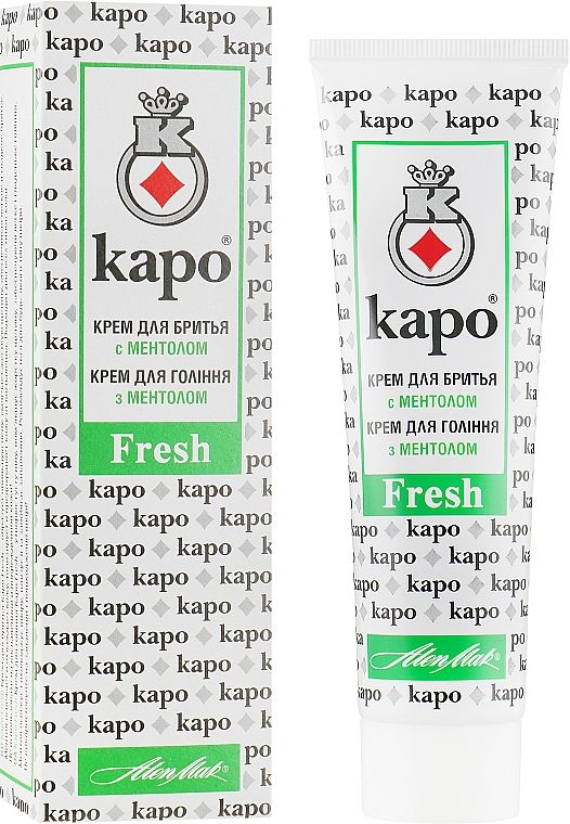Крем для бритья - KAPO Fresh Shaving Cream