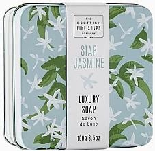 "Духи, Парфюмерия, косметика Мыло для тела в металлической коробке ""Звездный жасмин"" - Scottish Fine Star Jasmine Soap In A Tin"