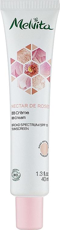 BB крем - Melvita Nectar De Roses BB Cream SPF 15