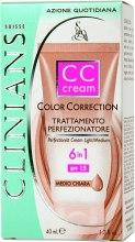 Духи, Парфюмерия, косметика Маскирующее средство 6в1 CC Cream SPF 15 - Clinians Color Correction CC Cream