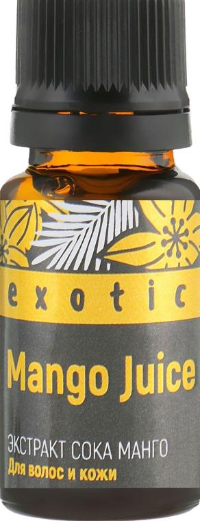 """Усилитель косметических средств для волос и кожи """"Экстракт сока манго"""" - Pharma Group"""