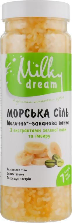 """Морская соль для ванн """"Молочно-банановая ванна"""" - Milky Dream"""