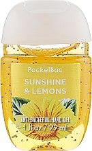 "Духи, Парфюмерия, косметика Антибактериальный гель для рук ""Sunshine Lemons"" - Bath & Body Works Anti-Bacterial Hand Gel"