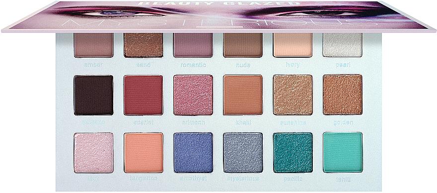 Палетка теней для век - Beauty Glazed Mysterious Eyeshadow Palette