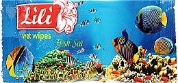 Духи, Парфюмерия, косметика Влажные салфетки с ароматом морской свежести - Lili