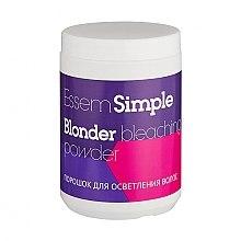 Духи, Парфюмерия, косметика Осветляющий порошок - Essem Simple Blonder Bleaching Powder