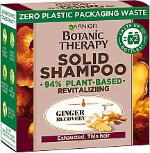 """Духи, Парфюмерия, косметика Твердый шампунь для истощенных, тонких волос """"Имбирное восстановление"""" - Garnier Botanic Therapy Solid Shampoo"""