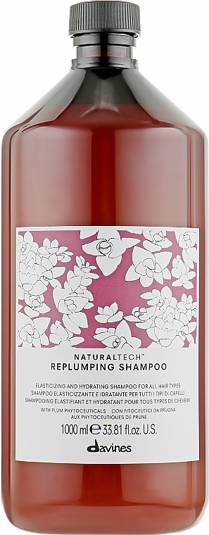 Ущільнюючий шампунь - Davines Replumping Shampoo — фото N5