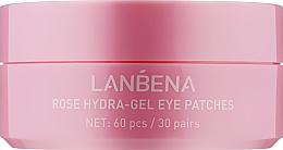 Духи, Парфюмерия, косметика Гидрогелевые патчи для глаз с экстрактом розы - Lanbena Rose Hydra-Gel Eye Patch