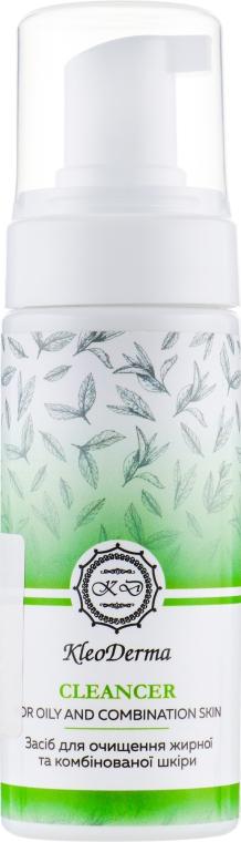 Пена для очищения жирной и комбинированной кожи - KleoDerma Cleanser For Oily And Combination Skin