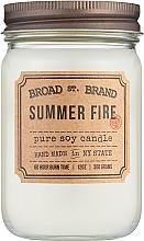 Духи, Парфюмерия, косметика Kobo Broad St. Brand Summer Fire - Ароматическая свеча