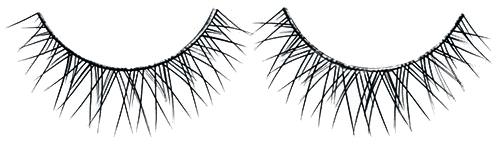 """Ресницы накладные натурал """"Х"""", FR 201 - Silver Style Eyelashes"""