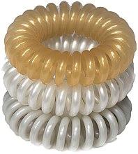Духи, Парфюмерия, косметика Резинки для волос, 3,5 см - Ronney Professional S7 MAT Funny Ring Bubble