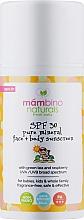 Духи, Парфюмерия, косметика Детский натуральный минеральный солнцезащитный крем SPF 30 - Mambino Organics Children's natural mineral sunscreen SPF 30