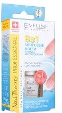 Лікувальний препарат для нігтів 8в1 - Eveline Cosmetics Nail Therapy Total Action — фото N4