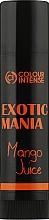 "Духи, Парфюмерия, косметика Бальзам для губ ""Exotic Mania"" с ароматом манго - Colour Intense Lip Balm"