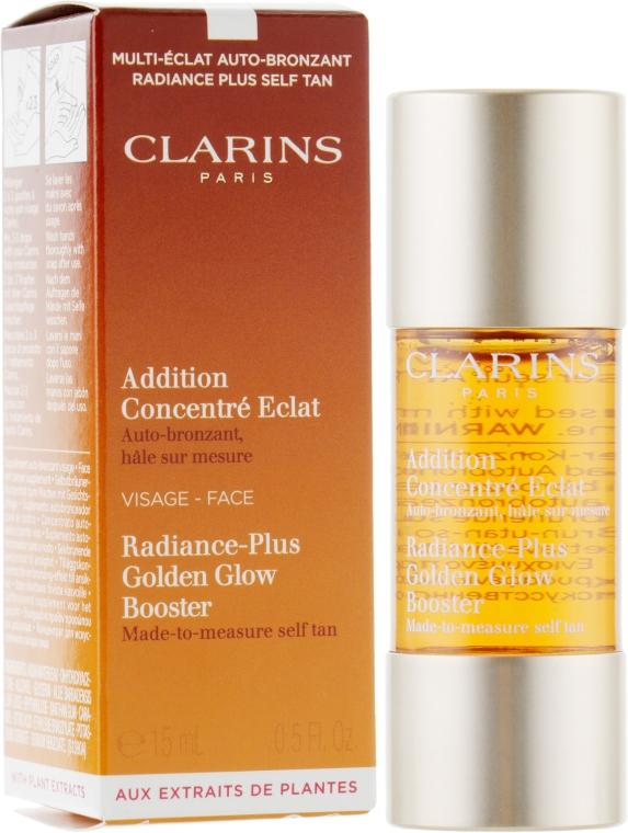 Концентрат с эффектом искусственного загара для лица - Clarins Radiance-Plus Golden Glow Booster
