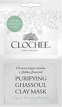 Духи, Парфюмерия, косметика Очищающая маска с глиной Гассул - Clochee Purifying Ghassoul Clay Mask
