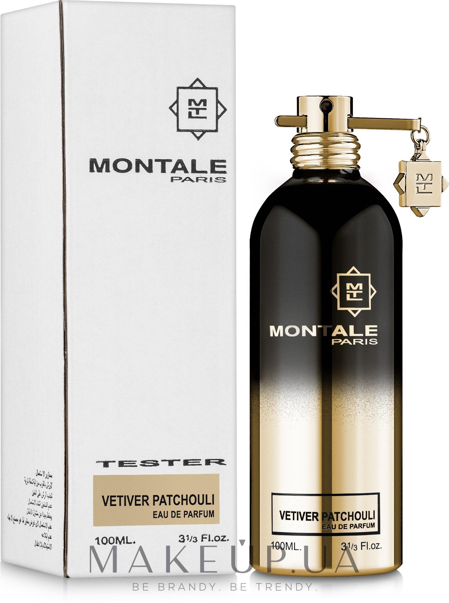 Montale Vetiver Patchouli - Парфюмированная вода (тестер) — фото 100ml