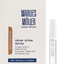 Духи, Парфюмерия, косметика Кондиционер-спрей для блондинок против желтизны волос - Marlies Moller Specialist Silver Shine Spray (пробник)