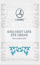 Духи, Парфюмерия, косметика Крем для кожи вокруг глаз - Lambre DNA-Shot Line Eye Cream For Aging Skin (пробник)