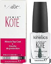 Духи, Парфюмерия, косметика Быстросохнущее верхнее покрытие - Kinetics Kwik Kote Miracle Top Coat