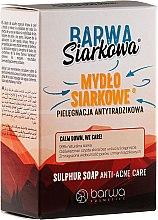 Духи, Парфюмерия, косметика Антибактериальное серное мыло - Barwa Anti-Acne Antibacterial Soap