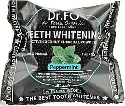 Духи, Парфюмерия, косметика Зубной порошок черный кокосовый - Dr.Fosez Teeth Whitening