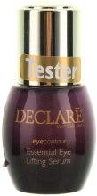 Духи, Парфюмерия, косметика Восстанавливающая лифтинговая сыворотка под глаза - Declare Eye Contour Essential Eye Lifting Serum (тестер)