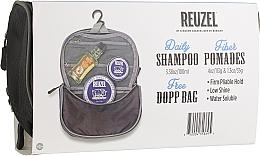 Духи, Парфюмерия, косметика Набор - Reuzel SadaPigsCanFlyDoppBagFiber (h/pomade/113g + h/pomade/35g + shm/100ml + bag)
