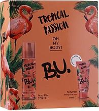 Духи, Парфюмерия, косметика B.U. Tropical Passion - Набор (mist/200ml + b/lot/50ml)