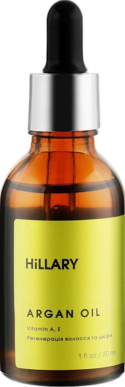 Органическое марокканское аргановое масло холодного отжима - Hillary Organic Cold-Pressed Moroccan Argan Oil