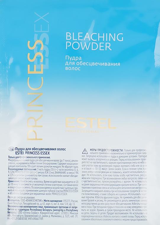 Пудра для обесцвечивания волос - Estel Professional Essex Princess Bleaching Powder 750