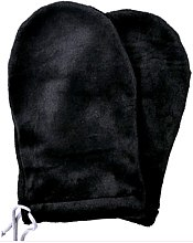 Духи, Парфюмерия, косметика Варежки для парафинотерапии махровые, черный - Tufi Profi