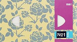 Парфумерія, косметика Серветки універсальні двошарові, 150 шт., сіра троянда - Bella