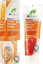 "Духи, Парфюмерия, косметика Скраб для лица ""Манука Мед"" - Dr. Organic Manuka Honey Face Scrub"