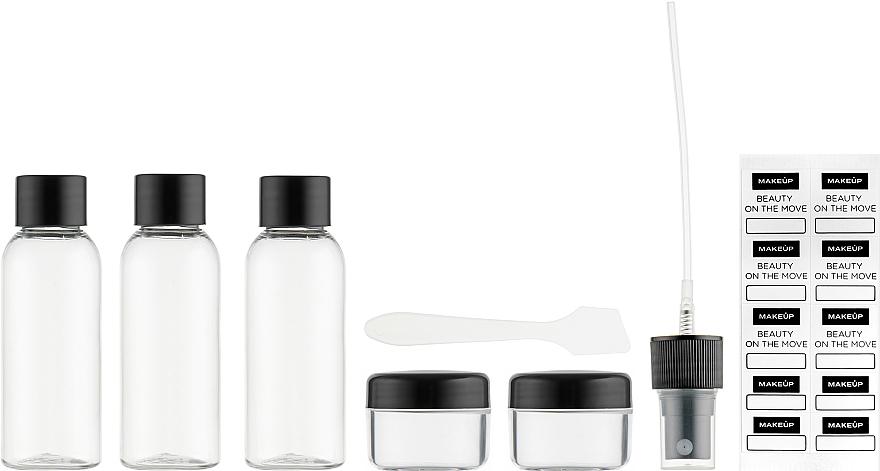 Дорожный набор туалетных принадлежностей из 5 емкостей - Makeup