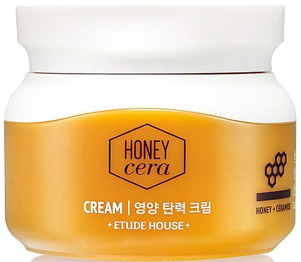 Крем для лица с экстрактом меда - Etude House Honey Cera Cream