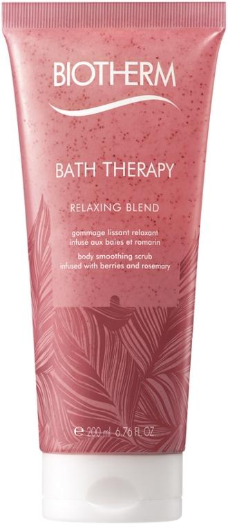 Скраб для тела с экстрактом ягод и розмарина - Biotherm Bath Therapy Relaxing Blend Body Smoothing Scrub