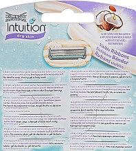 Сменные кассеты для бритья, 4 шт - Wilkinson Sword Intuition Dry Skin — фото N2
