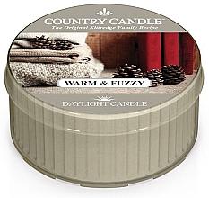 """Духи, Парфюмерия, косметика Чайная свеча """"Теплый и пушистый"""" - Country Candle Warm & Fuzzy Daylight"""