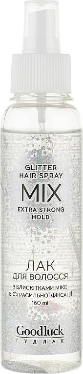 """Лак для волос """"Микс"""" экстрасильной фиксации - Supermash Goodluck Mix Hair Spray"""