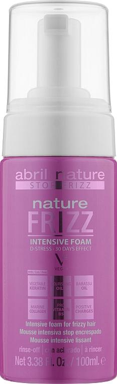 Мусс для выравнивания волос - Abril et Nature Nature Frizz D-Stress Intensive Foam