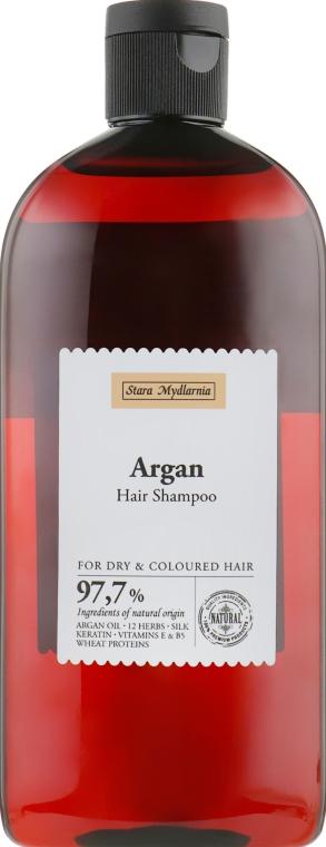 Шампунь для волос с маслом арганы и 12 травами - Stara Mydlarnia Argan Hair Shampoo 12 Herbs