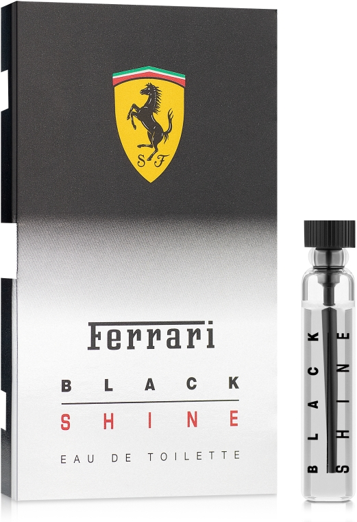 Ferrari Black Shine - Туалетная вода (пробник)