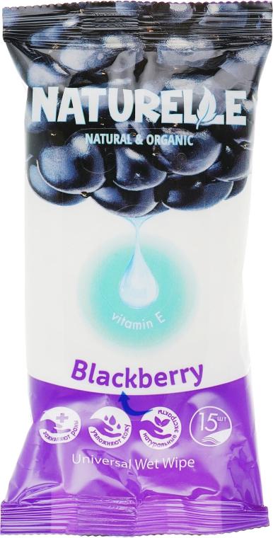 """Салфетки влажные """"Ежевика"""" - Naturelle Blackberry"""